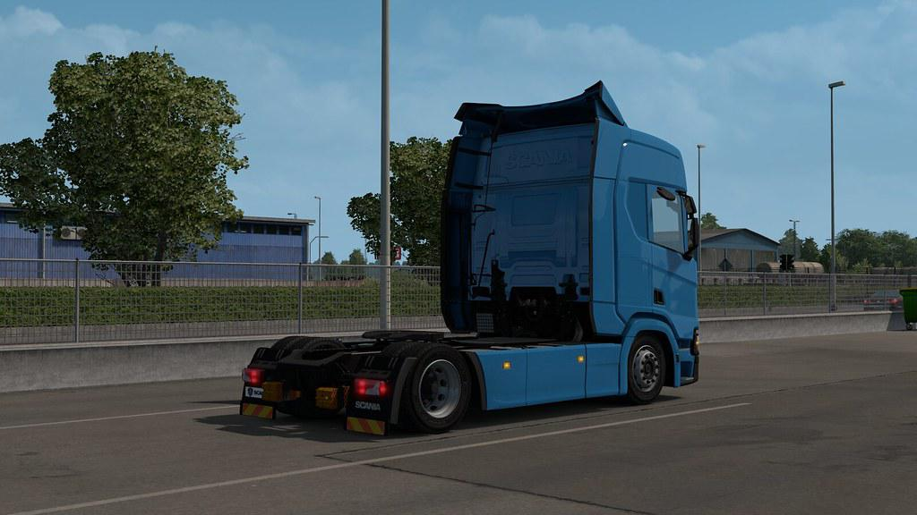 ETS2 - Scania NG Low Deck Chassis Addon V1.3 (1.36.x)