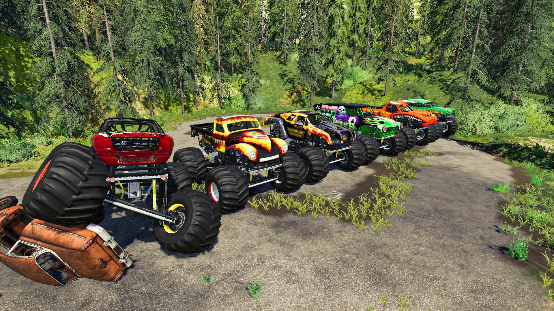 FS19 - Monster Truck Pack V1.0