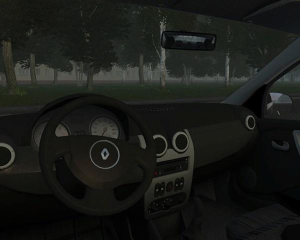 City Car Driving 1.5.9 - Renault Logan