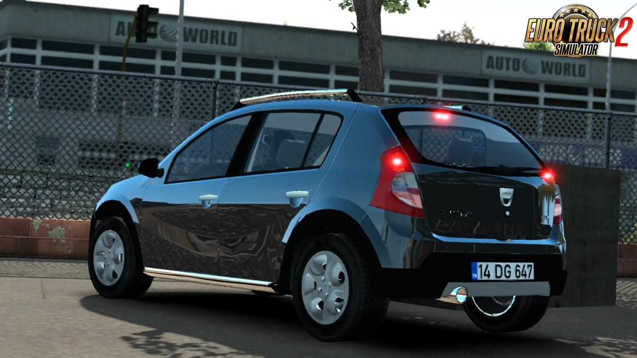 ETS2 - Dacia Sandero Car Mod V1.0 (1.35.x)