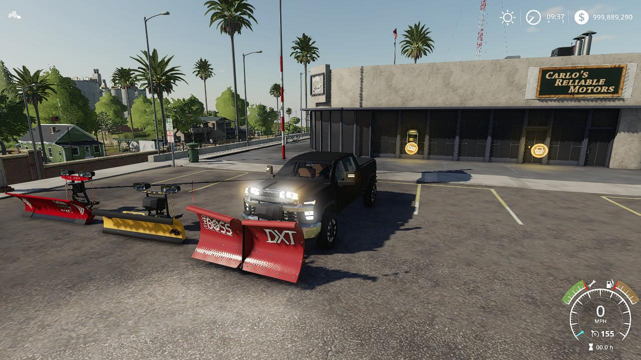 FS19 - 2020 Chevy With Plow V1.0