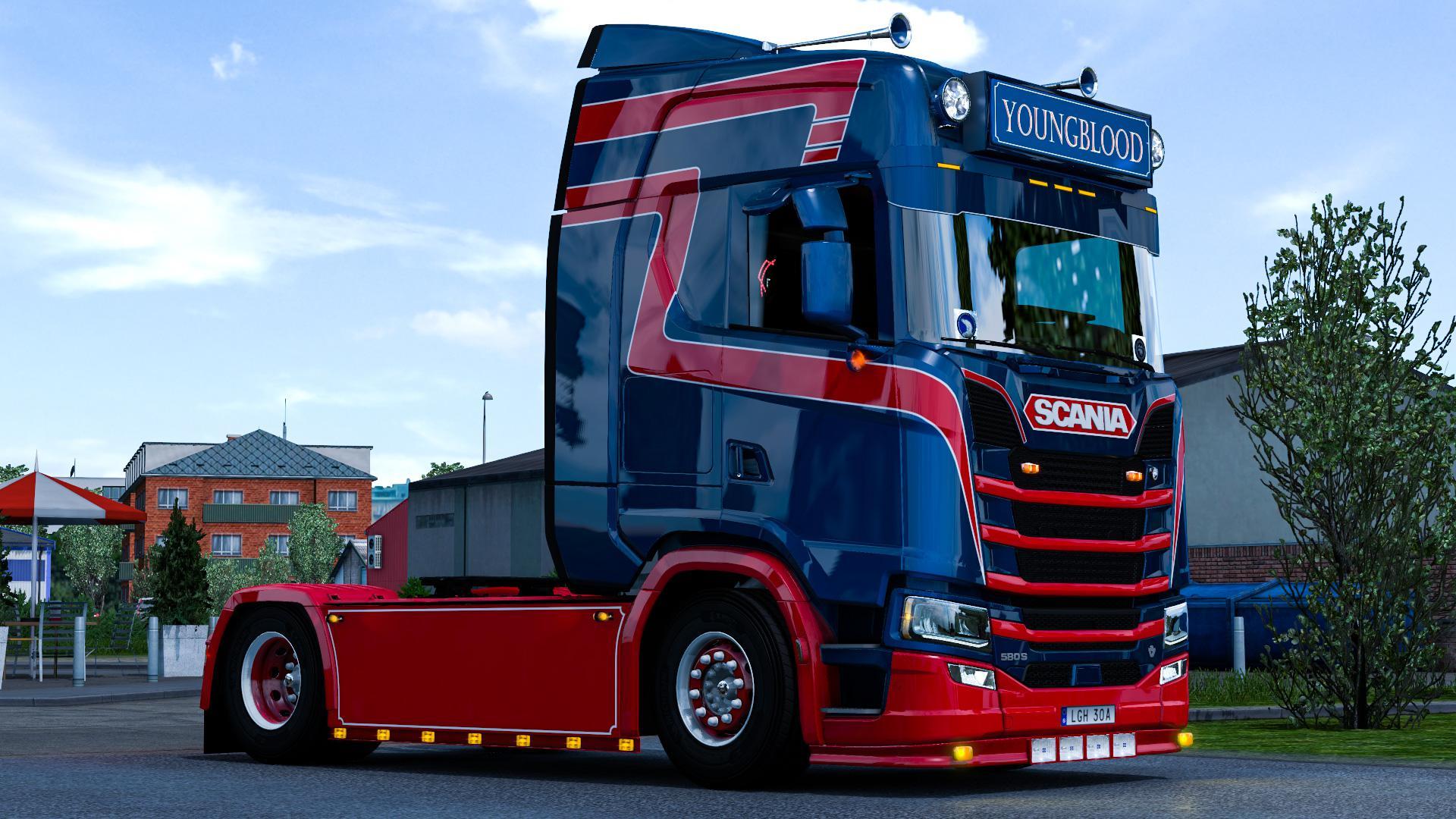 ETS2 - Scania S Dutch Style Metallic Skin V1.0 (1.38.x)