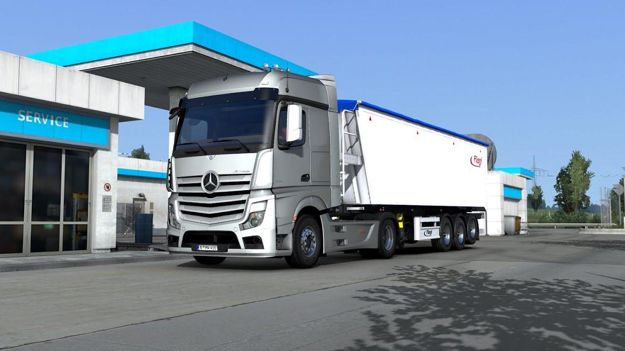 ETS2 - Mercedes Actros OM471 Engine Sound V2 (1.38.x)
