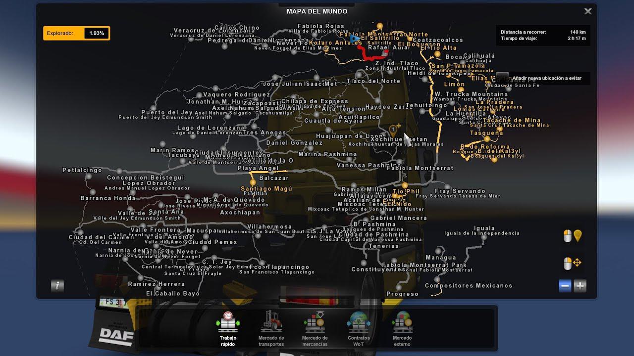 ETS2 - Vanessa Pashmina Map V4.2 (1.37.x)