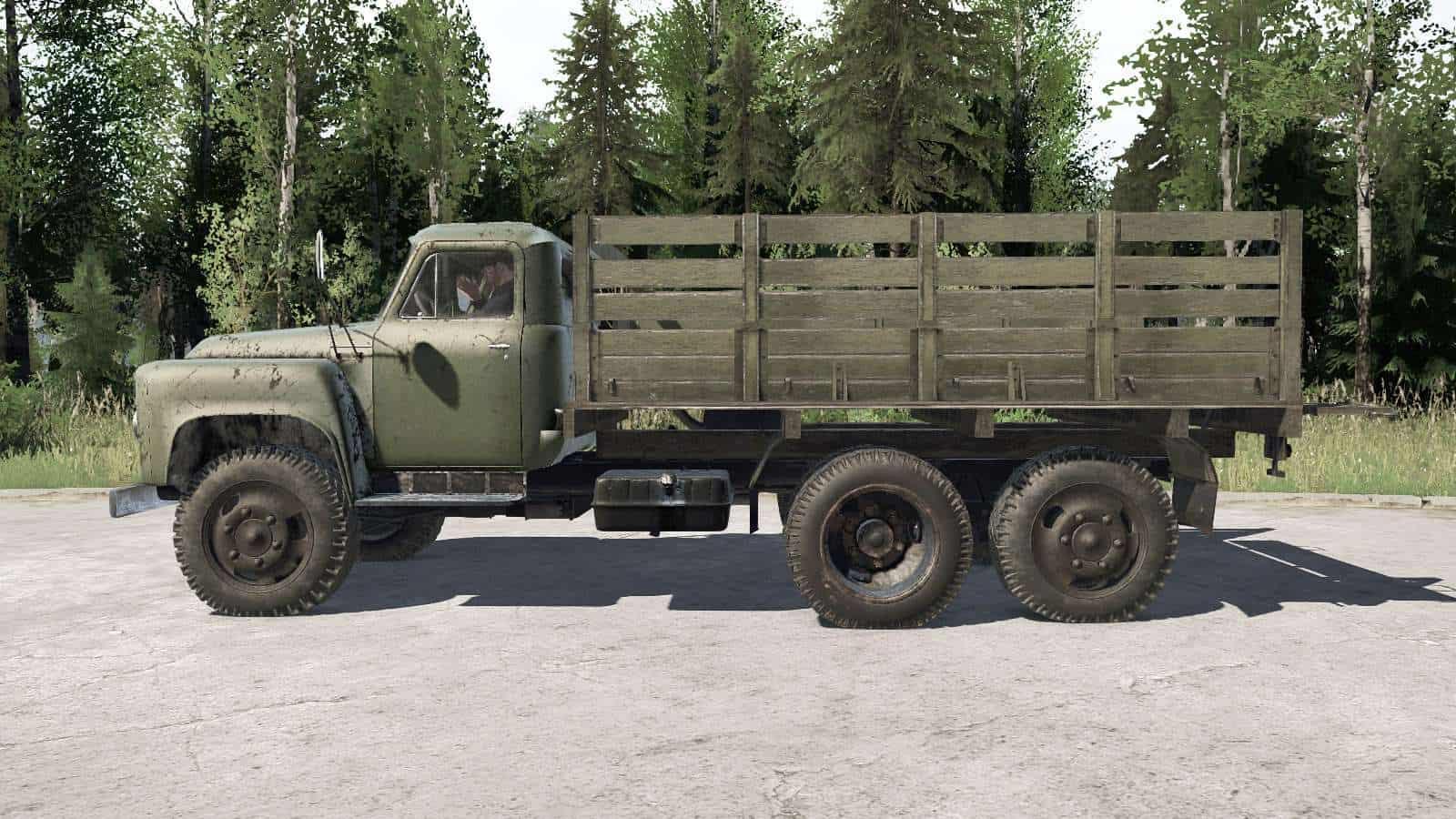 Spintires:Mudrunner - Gaz 53A Niat 05 Truck