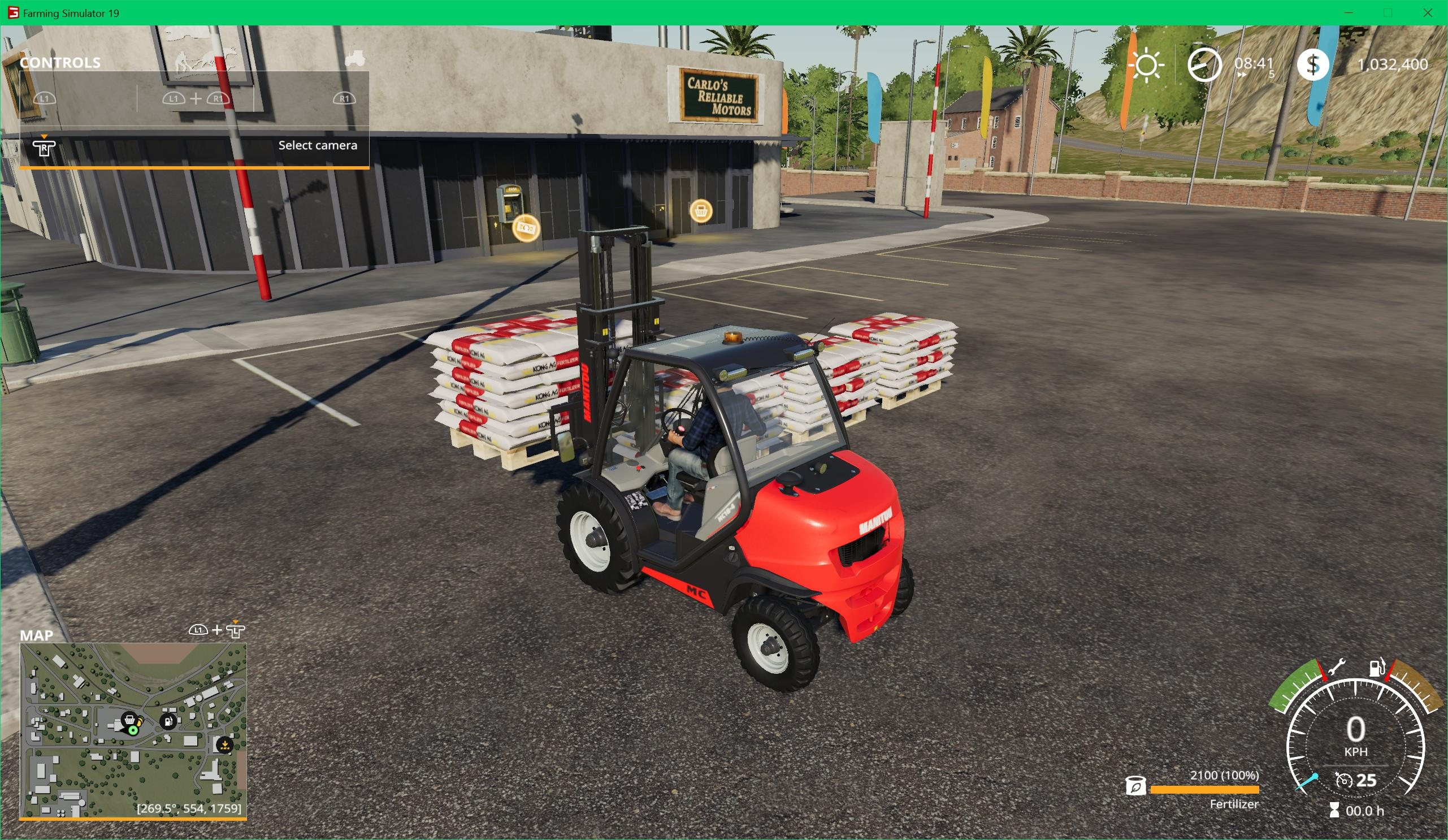 FS19 - Kong Ag Fertilizer Pallet V1.0.0.2