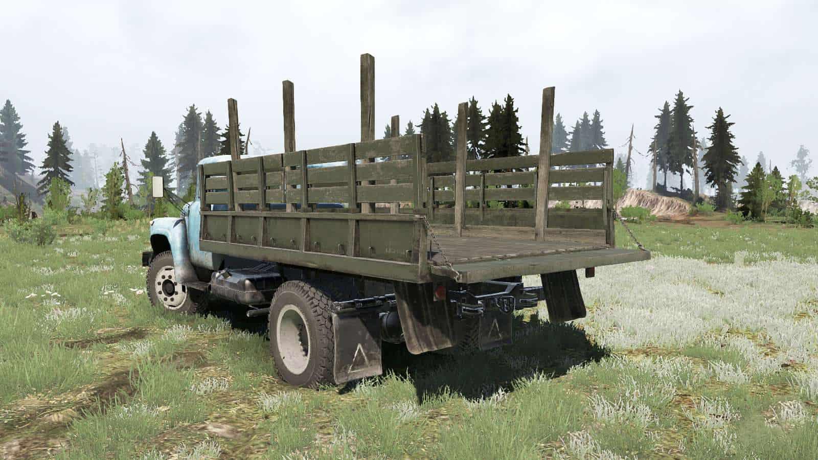 Spintires:Mudrunner - Sil 8E130G 1983 Truck