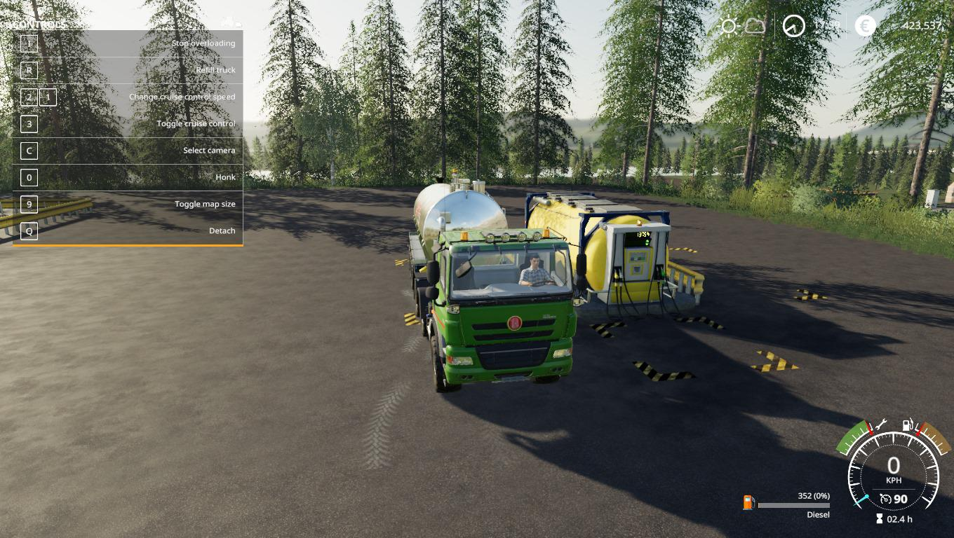 FS19 - Global Company Remote Diesel Storage Fixed