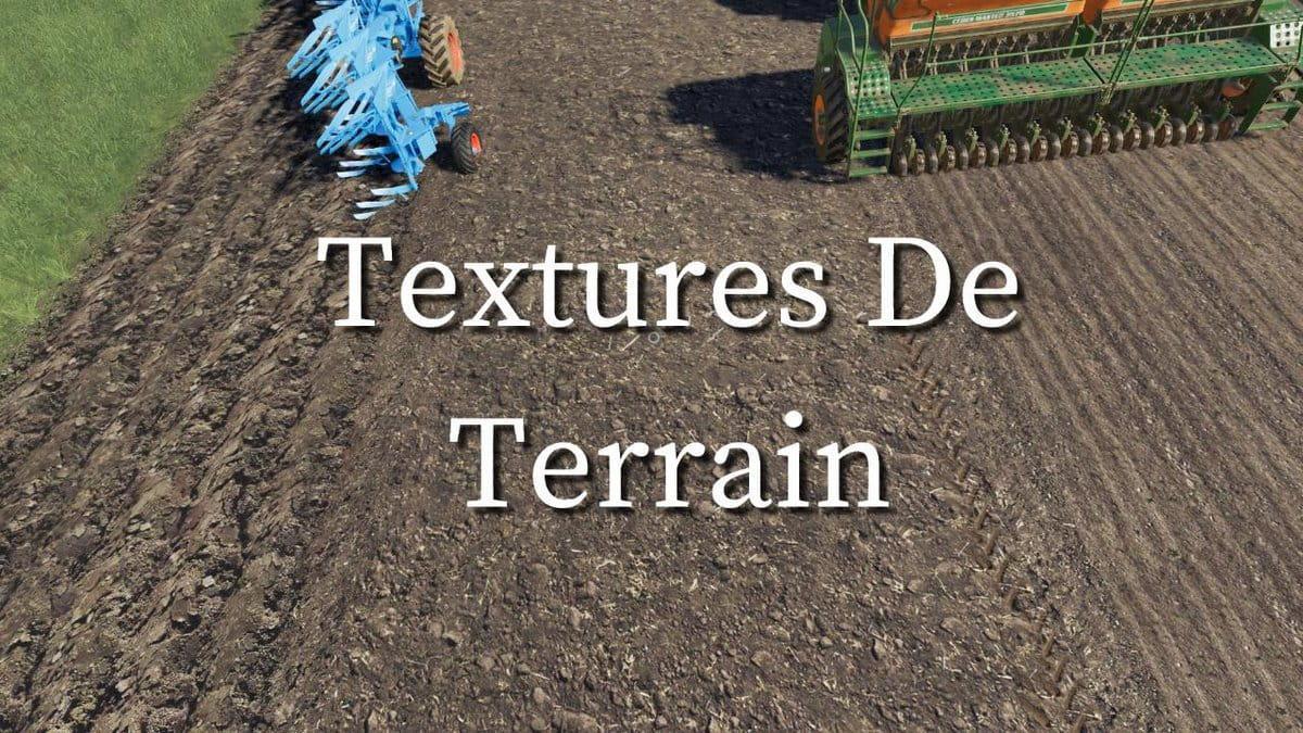 FS19 - Terrain Textures V1.0