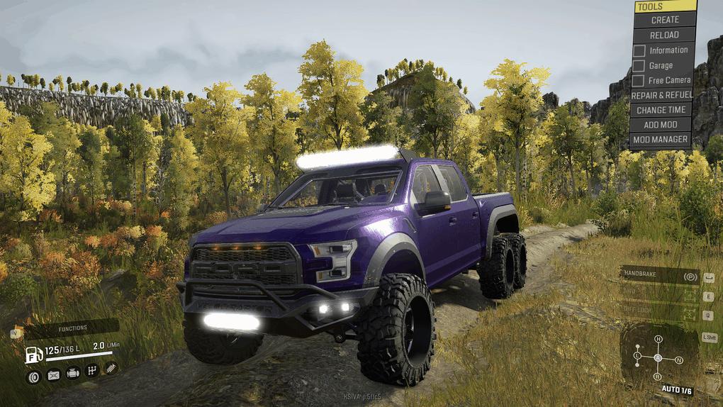 SnowRunner - Frogs 2018 Ford Hennessey Velociraptor 6x6 V1.0
