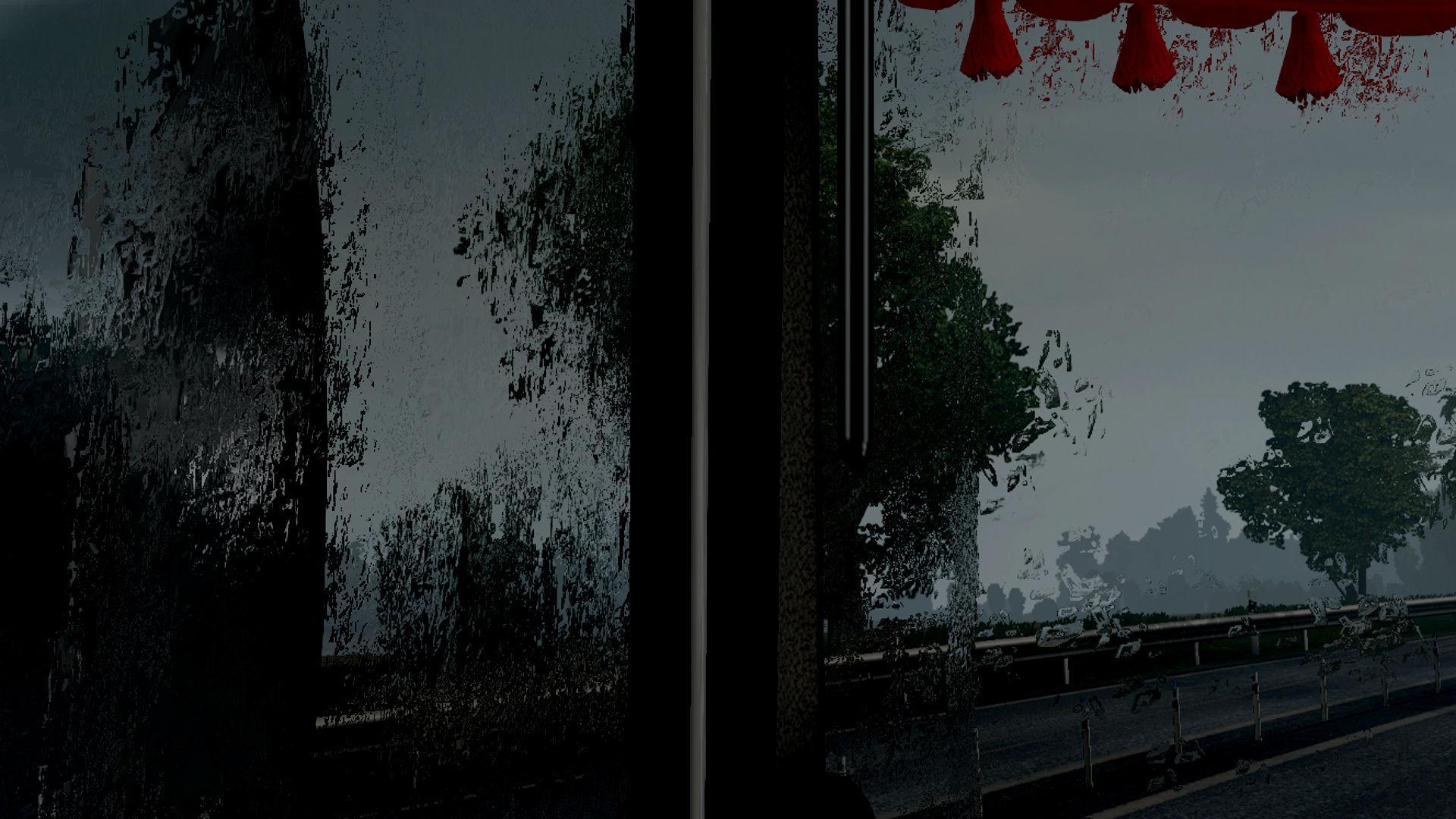 ETS2 - Better Rain Effects (1.36.x)
