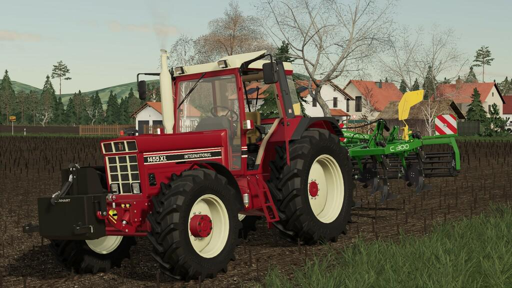 FS19 - International 1455/1255 XL Tractor V1.0