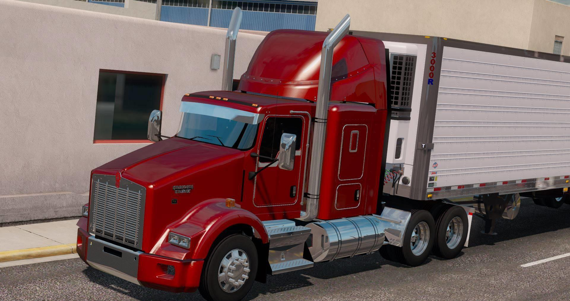 ATS - Kenworth T600/T660/T800 Truck V2.1 (1.36.x)