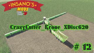 FS19 - CrazyCutter Krone XDisc620 V1.0