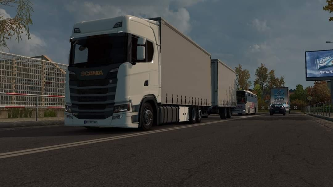 ETS2 - Scania S Tandem V1.0 (1.38.x)