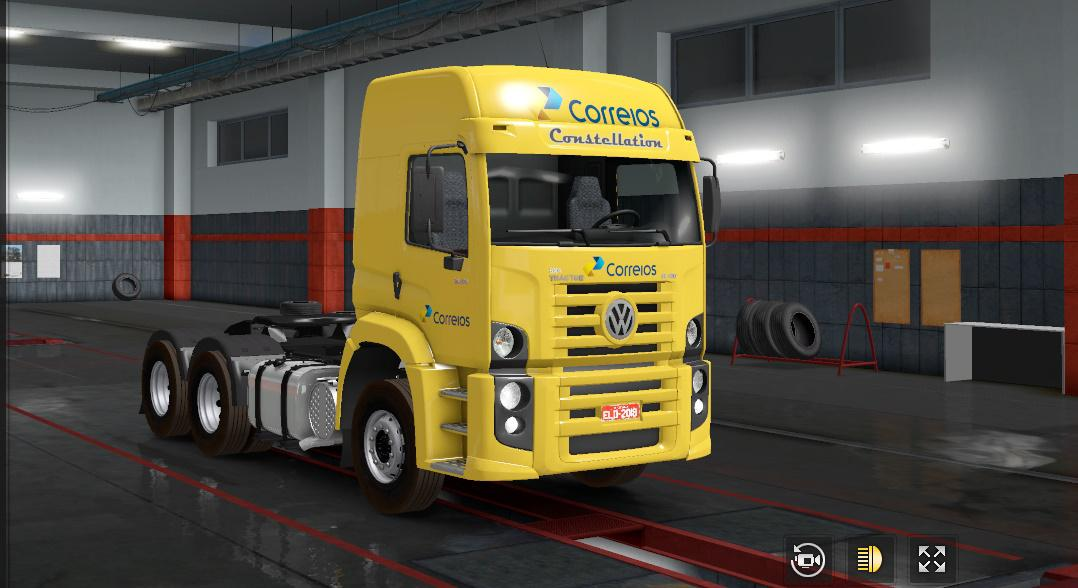 ETS2 - Volkswagen Constellation 370 420 Truck (1.36.x)