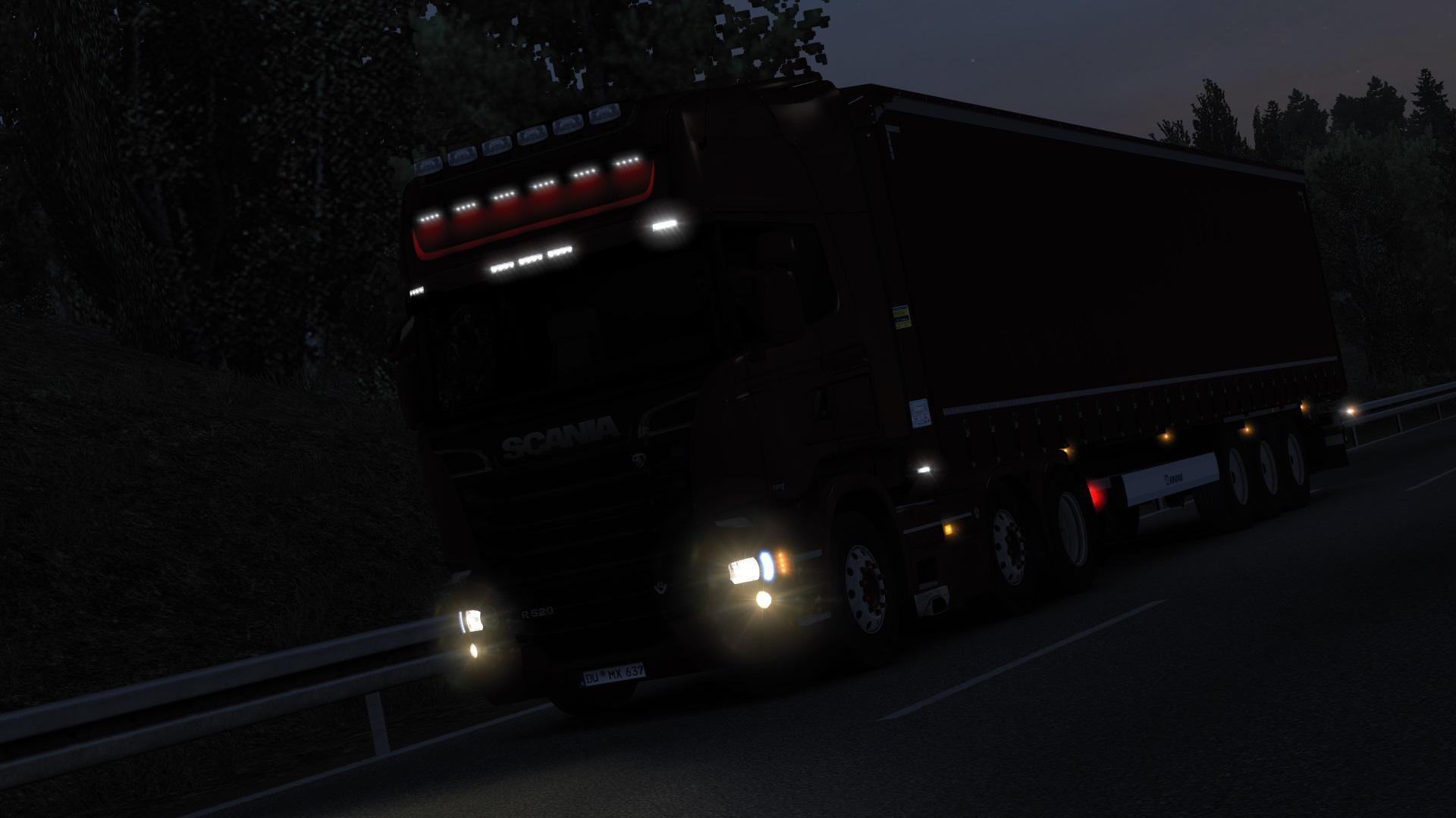 ETS2 - Realistic Headlights V1.0 (1.37.x)