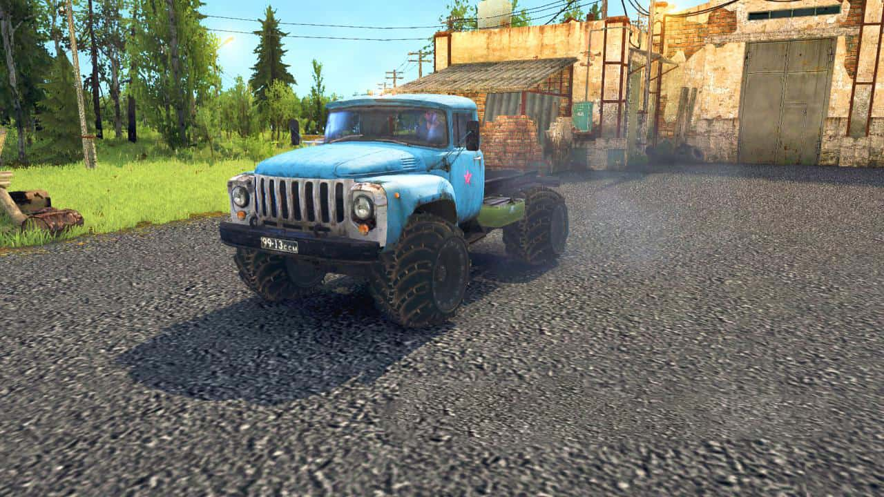 Spintires:Mudrunner - Arched Wheels for Any Car V1.0