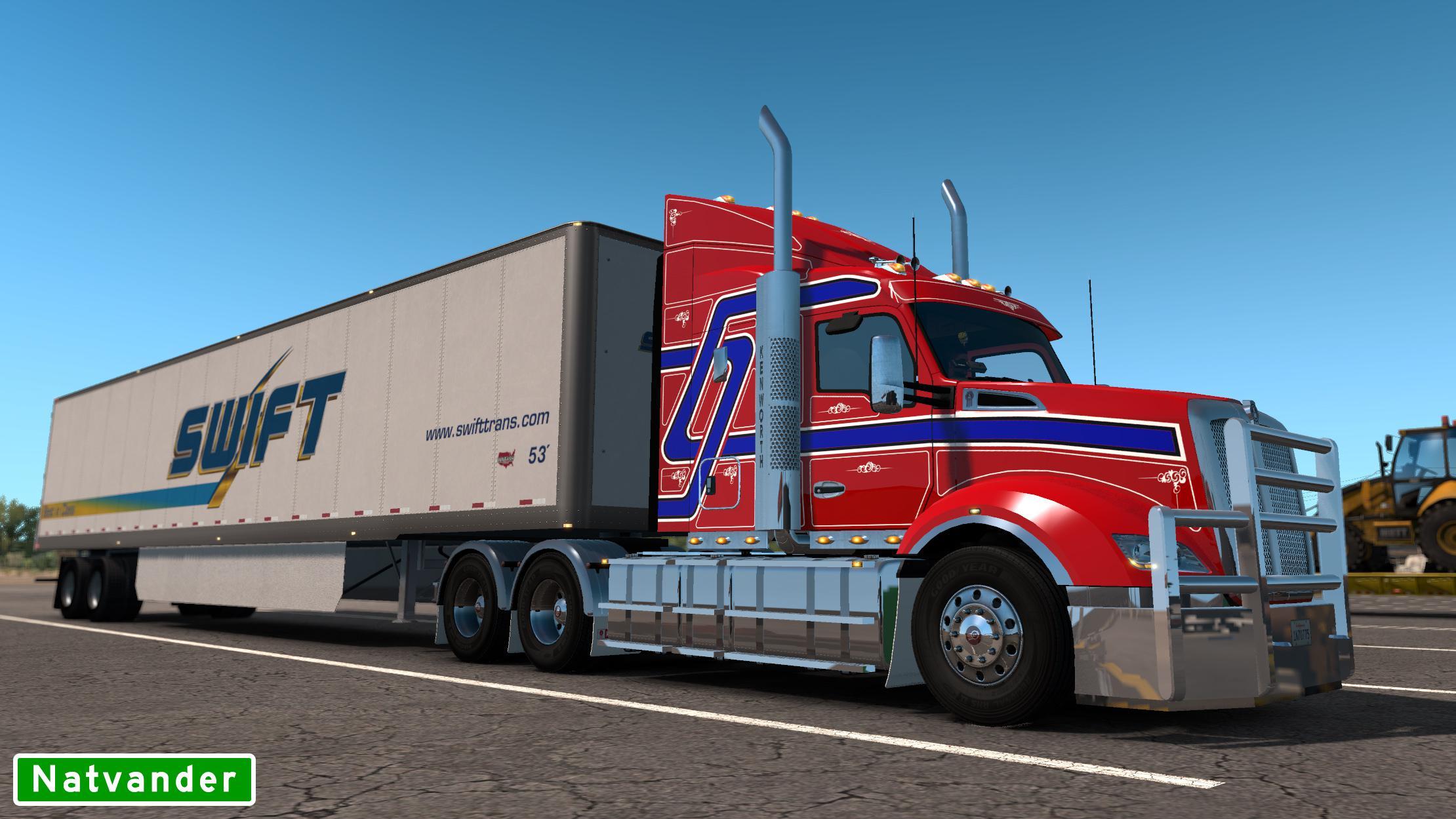 ATS - Kenworth T610 Truck (1.37.x)