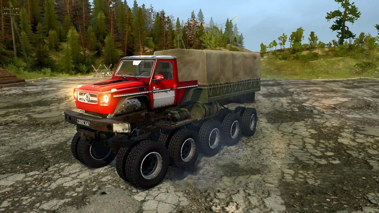Spintires:Mudrunner - Super invincible Off-Road Hippo V1