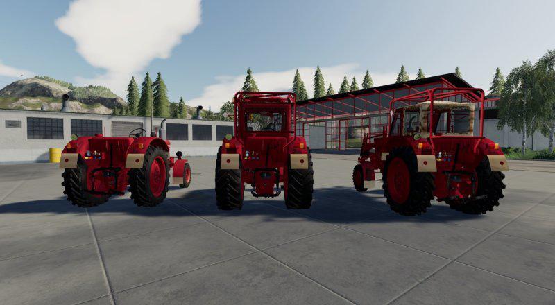 FS19 - MTZ 50-52 Tractor V1.0