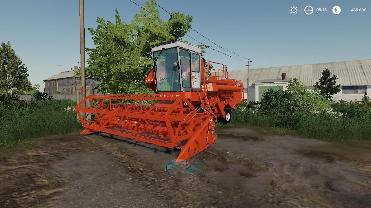 FS19 - Enisei 1200 1M Harvester V1.0
