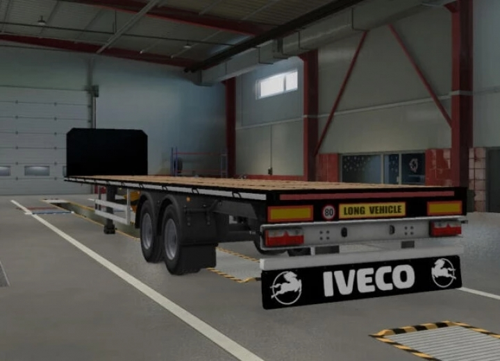 ETS2 - Mudflaps for Most SCS Trucks V1.0 (1.40.x)