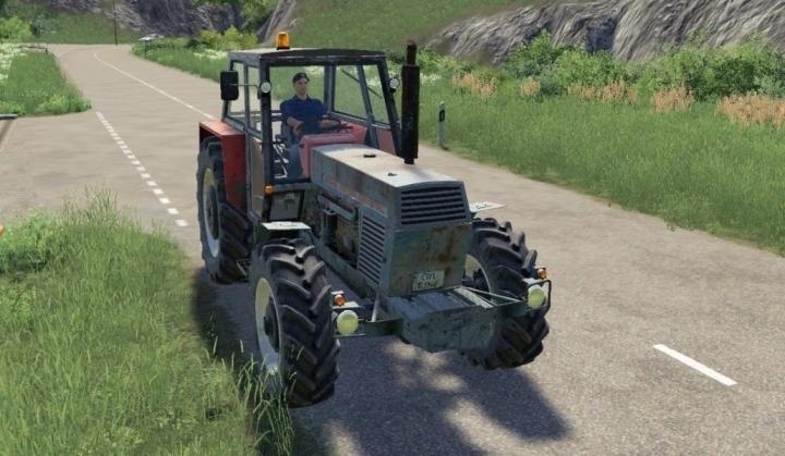 FS19 - Zetor Crystal 12045 Tractor V1.0