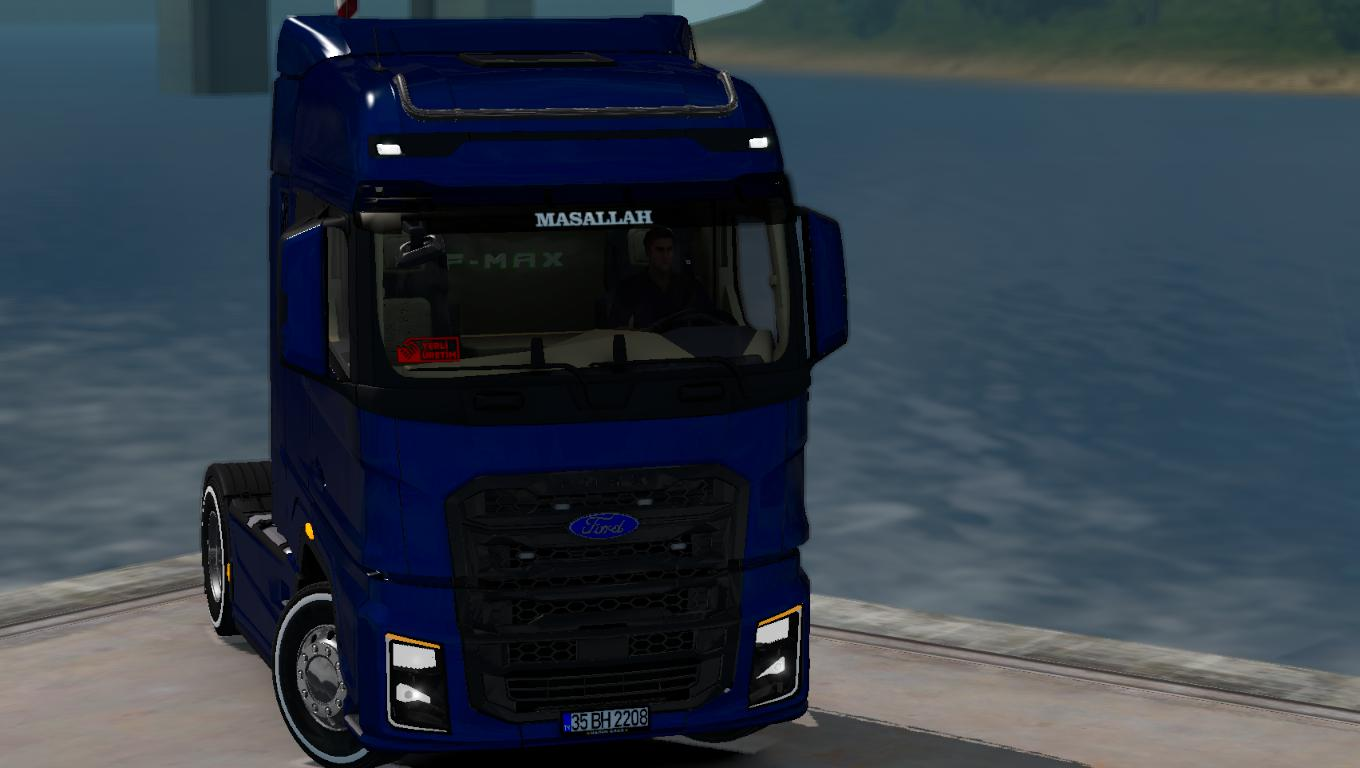 ETS2 - Ford F-Max Truck V1.1 (1.35.X)