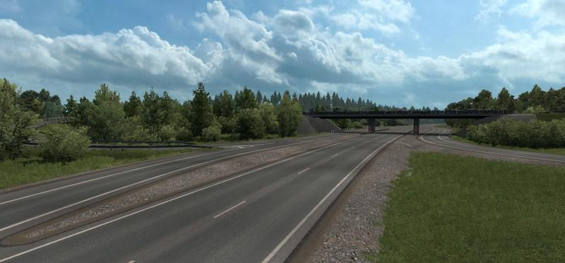 ETS2 - Addon for RusMap 2.1.1: Northern Beauty V2 (1.38.x)
