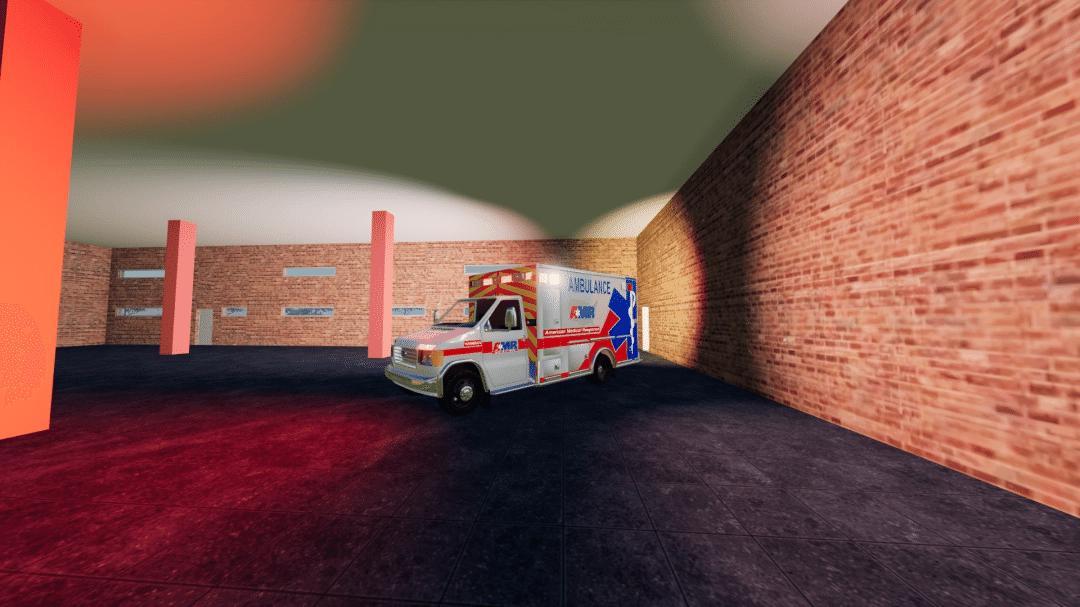 FS19 - Ford E350 Type 3 Ambulance V1.0