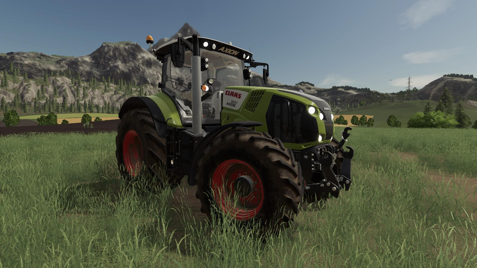 FS19 - Claas Axion 800 Tractor V1.0