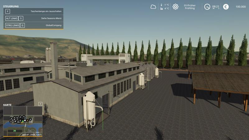 FS19 - Dondiego Map V2.0.1