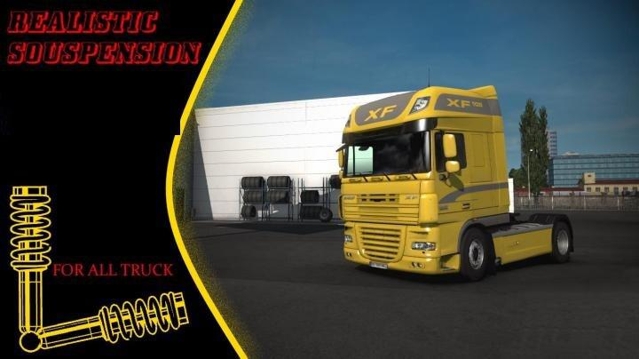 ETS2 - Dynamic Suspension Mod (1.40.x)