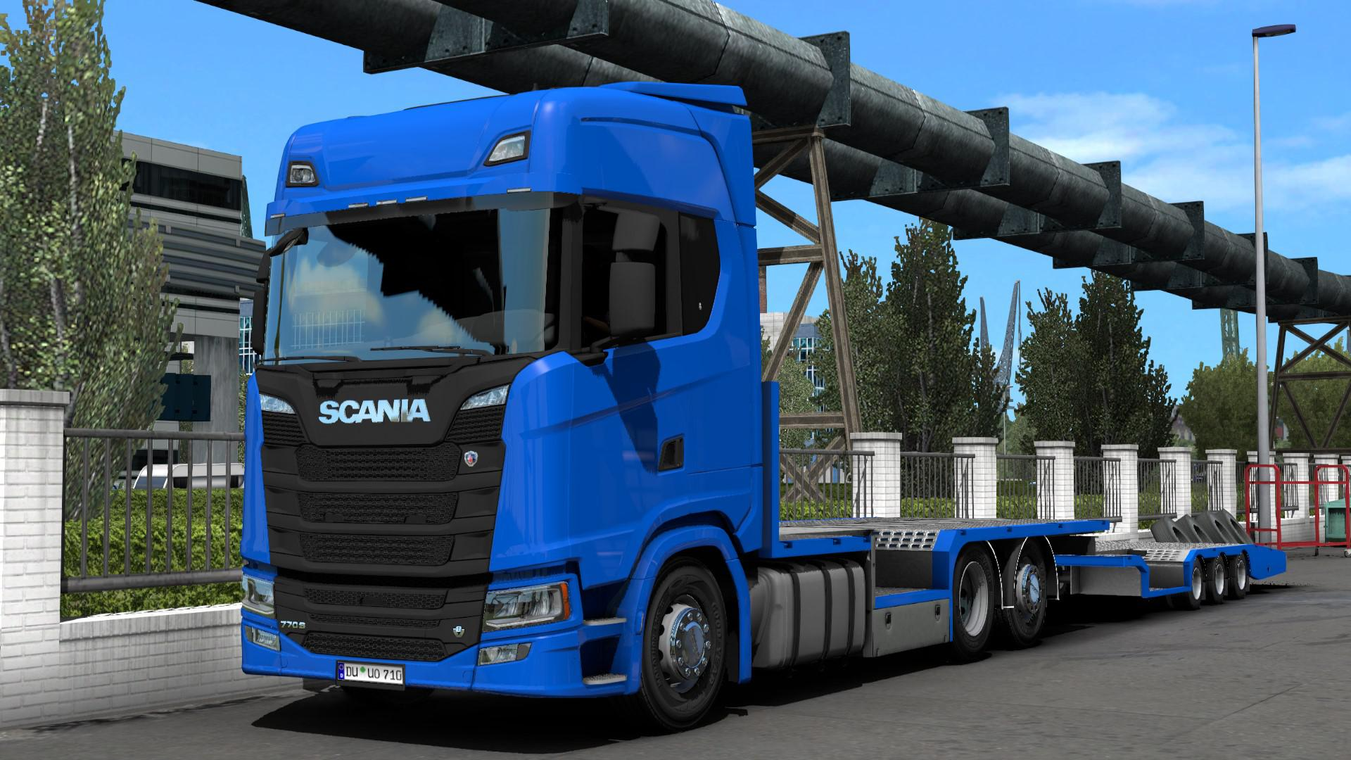 ETS2 - Scania FVG Tandem (1.40.x)