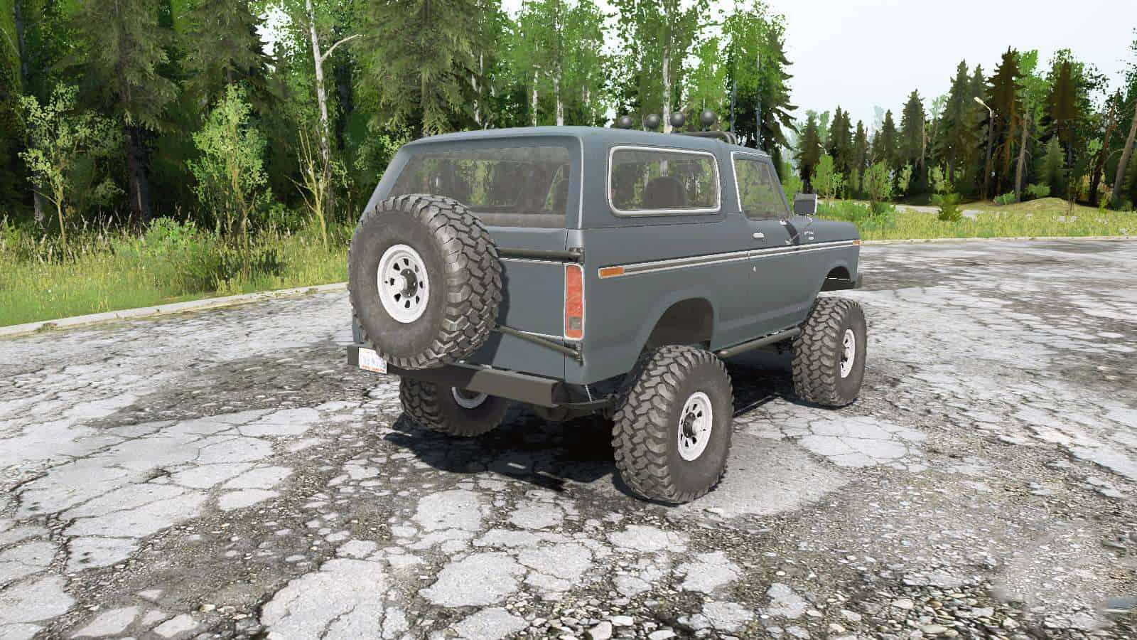 Spintires:Mudrunner - Ford Bronco