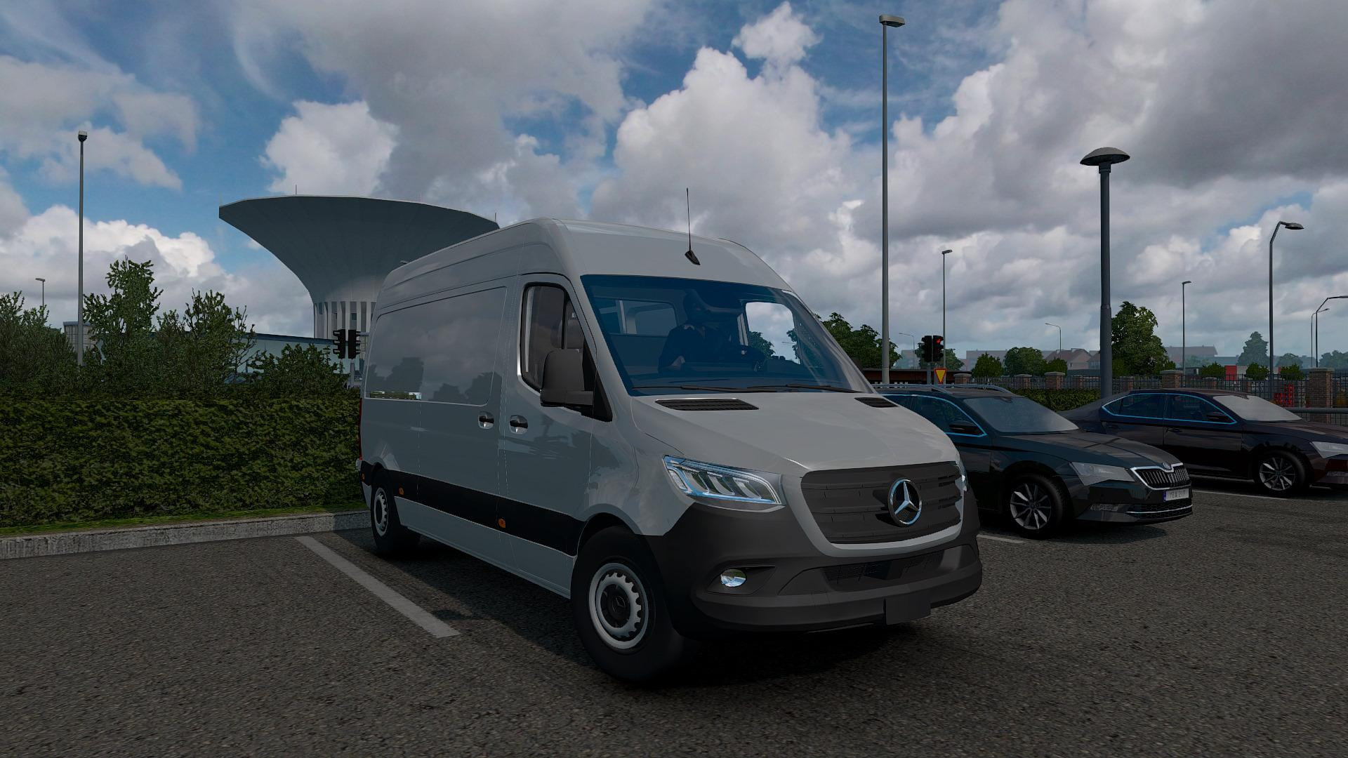 ATS - Mercedes Sprinter 2019 V0.1 Beta (1.36.x)