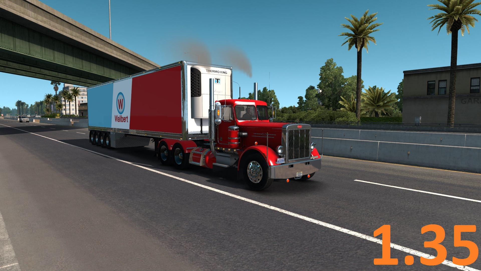 ATS - Peterbilt 359 Truck V1.4 (1.35.X)