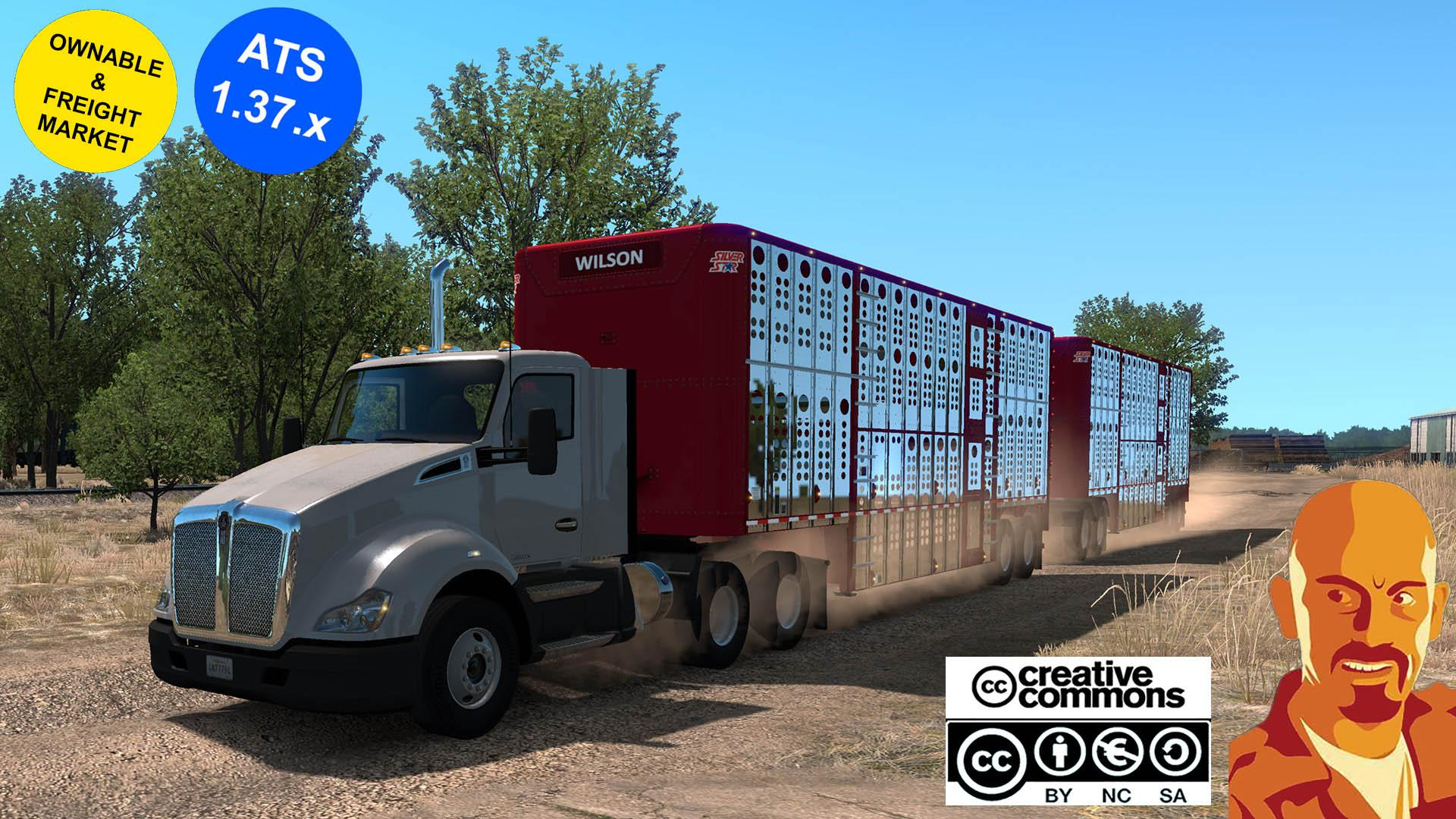 ATS - Wilson Cattle Trailers (1.37.x)