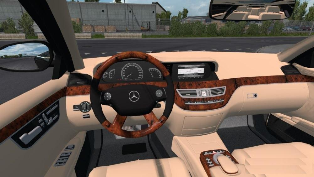 ETS2 - Mercedes-Benz S400d 4Matic 2019 Car Mod (1.35.x)