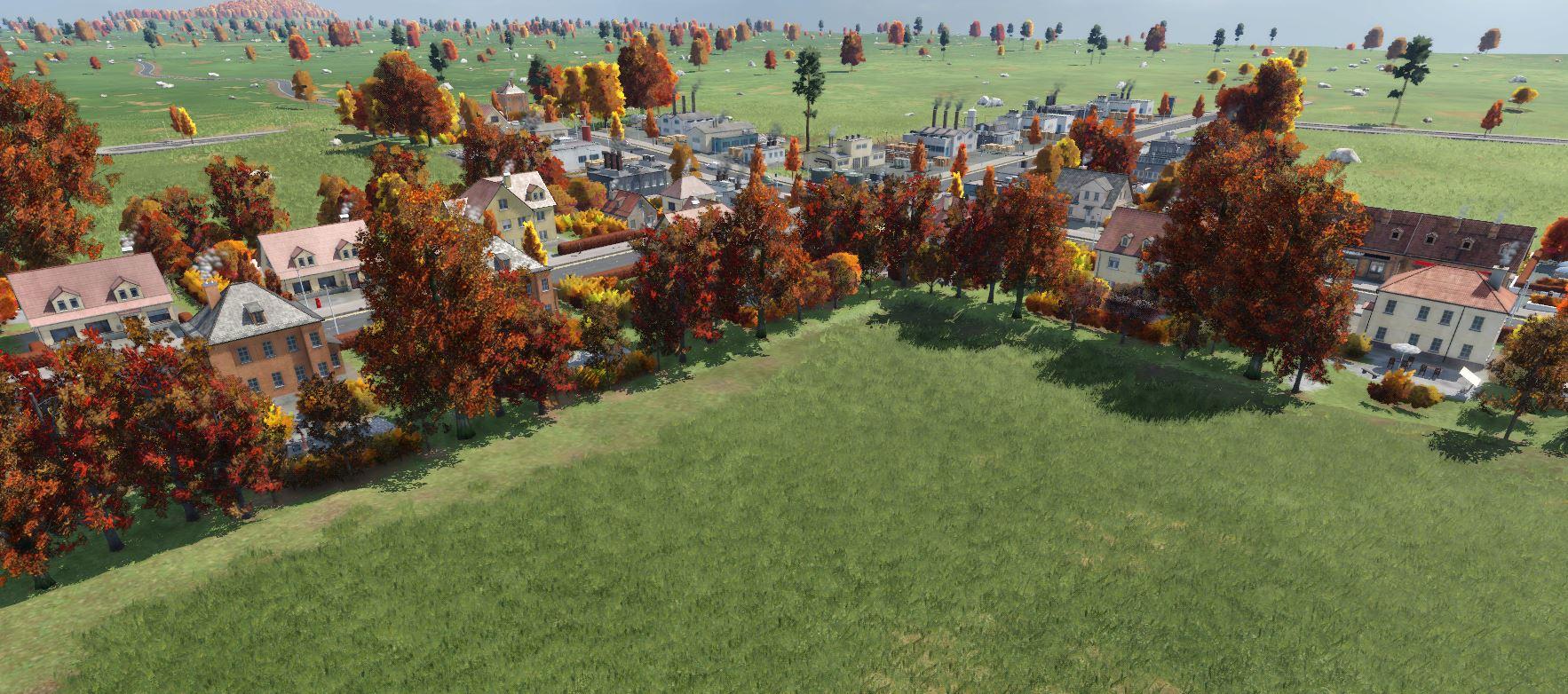Transport Fever 2 - Autumn Trees