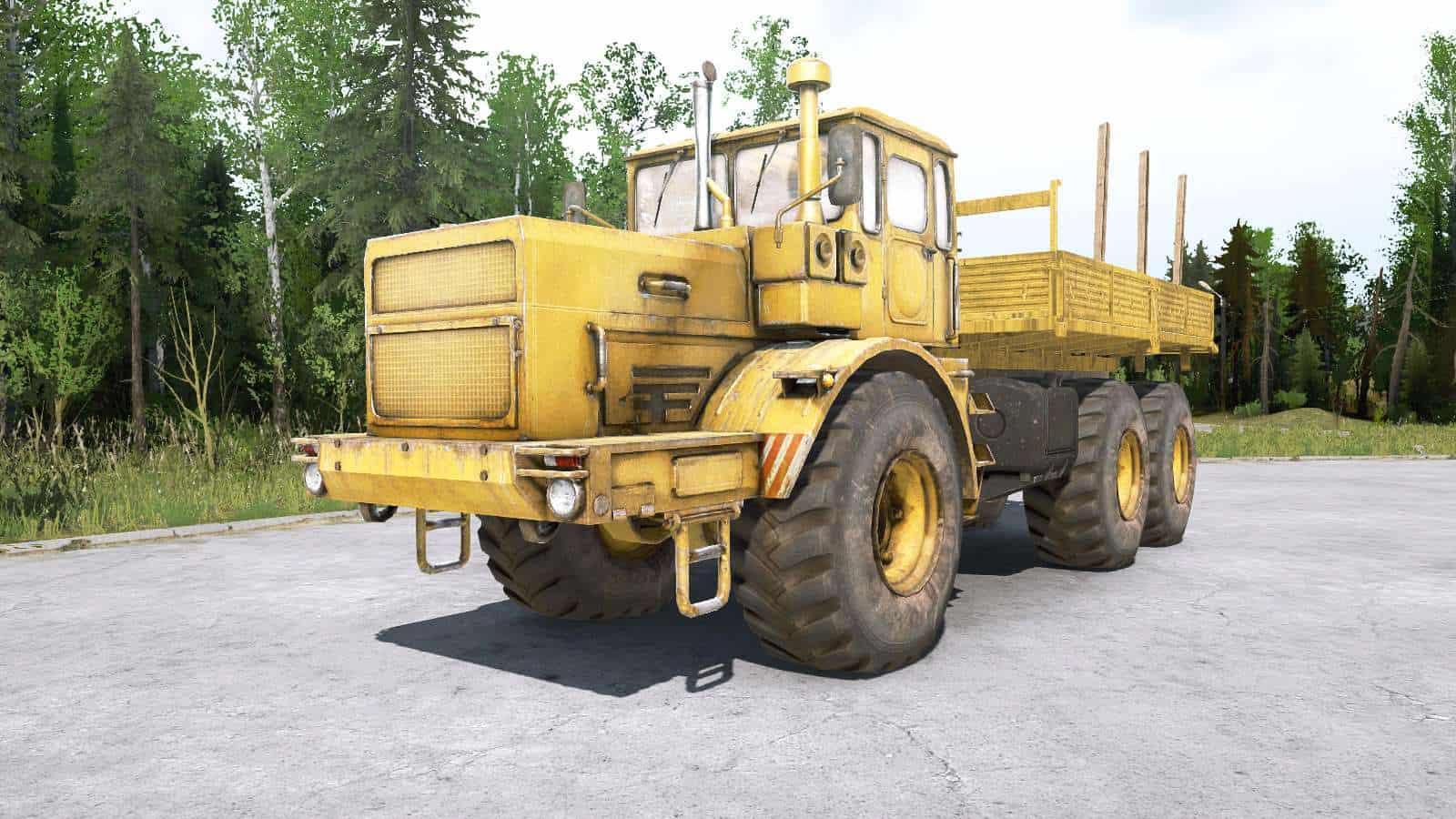 Spintires:Mudrunner - Kirovets K-701-T-TTB Tractor