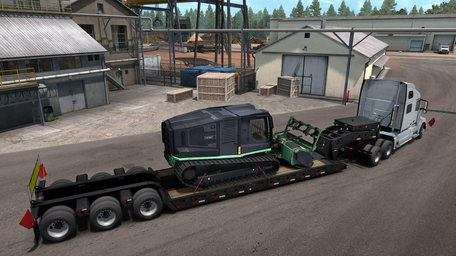 ATS - Multiple Trailers In Traffic Mod V6.0 (1.36.x)