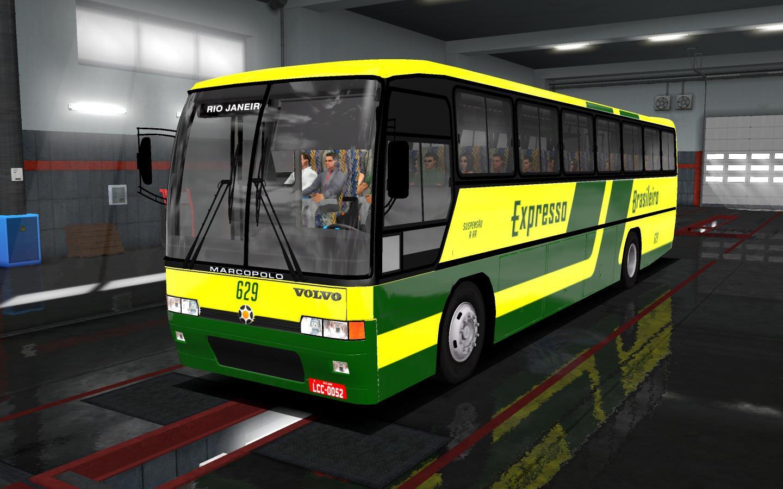 ETS2 - Volvo GV 100 Bus Mod (1.35.x)