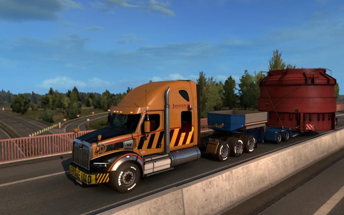 ETS2 - Westernstar 49X Truck V1.0 (1.35 - 1.36)