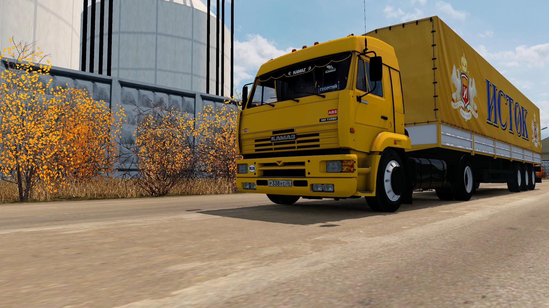 ETS2 - Kamaz 5460 Truck V5.0 (1.36.x)