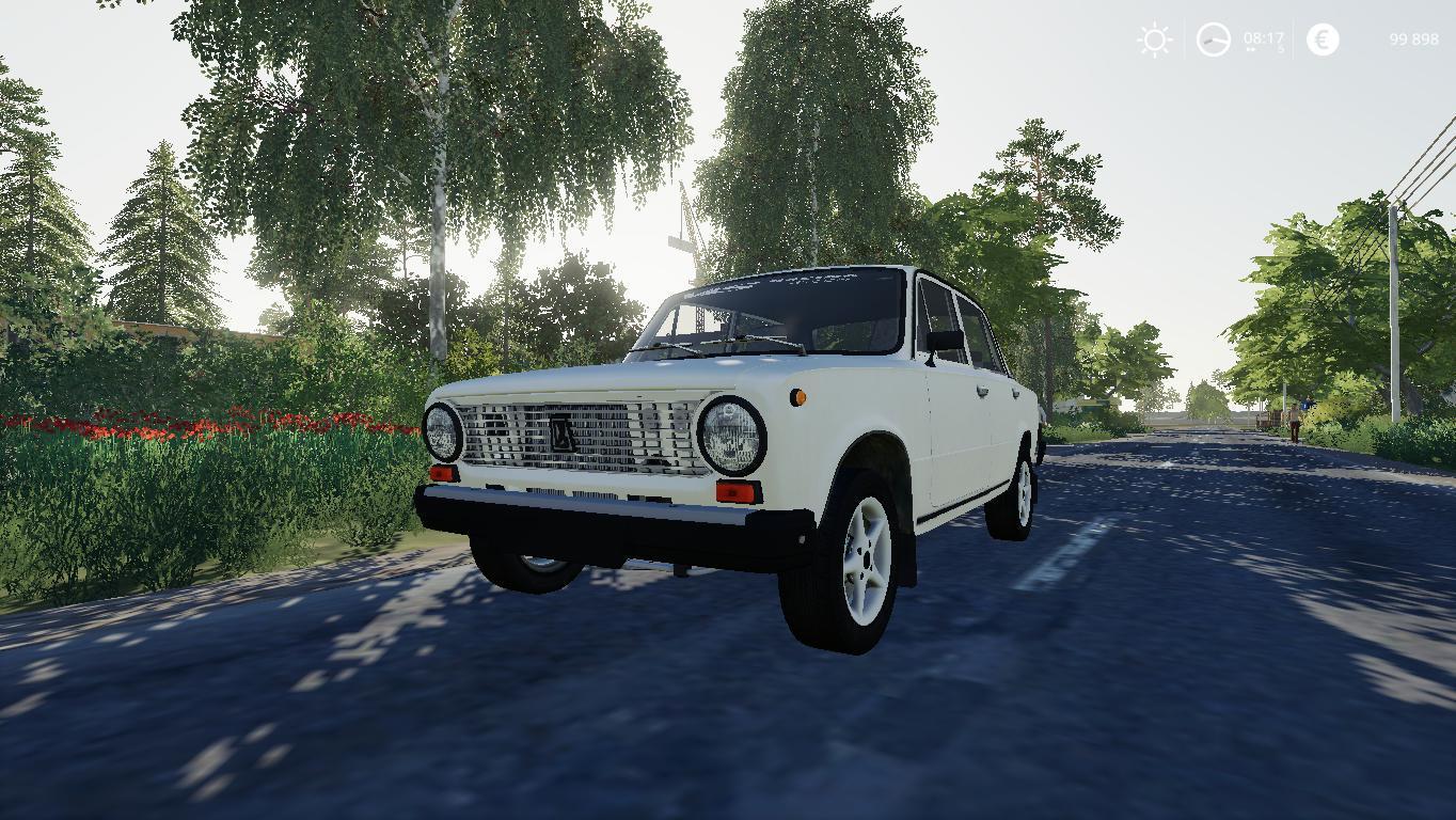 FS19 - Vaz 2101 Car Mod V1.0
