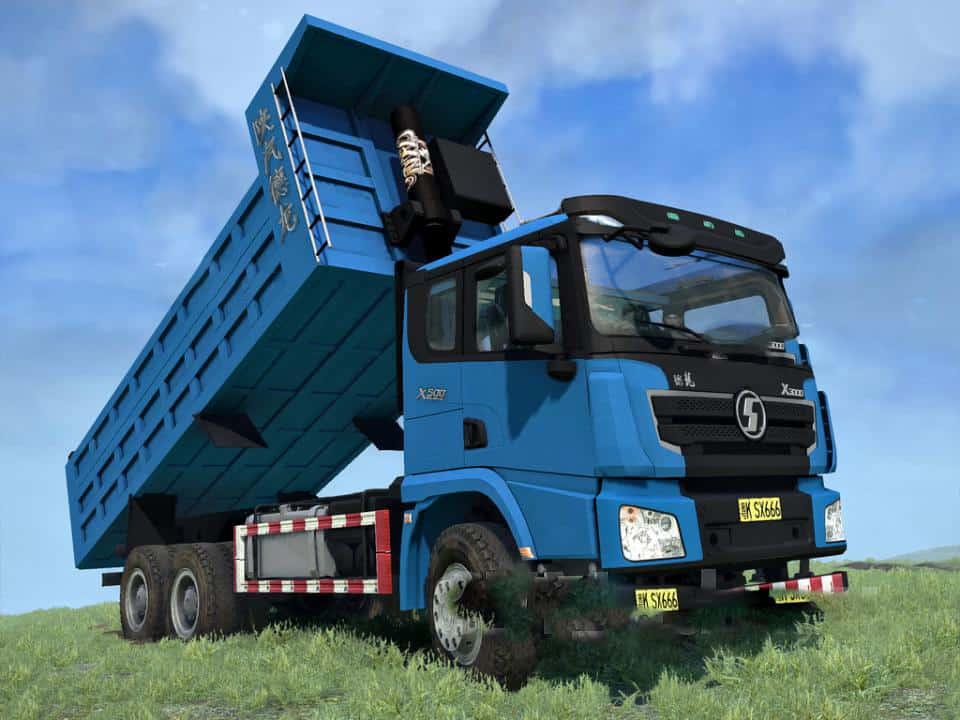 Spintires:Mudrunner - Shaanxi X3000 Truck V1.0