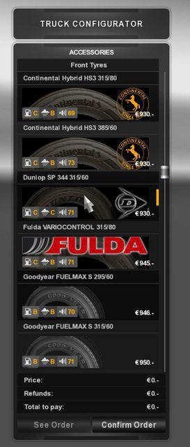ATS - Real Tires Mod V3.1 (1.36 - 1.39)