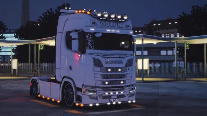 ETS2 - Scania 540S Gozum Truck (1.40.x)